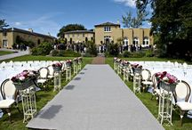 Ceremony Set Ups. / Ballinacurra House offers versatility, flexibility and style whether indoor or outdoor ceremony set ups are required.