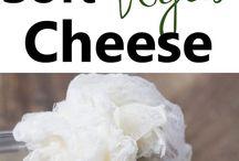 vegan cheese, salami