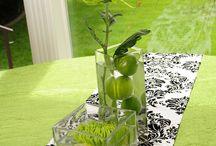 Stół - nakrycia, dekoracje