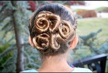 girly hair / by Twinkle Toes