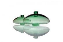 colour story - green / tsunami glassworks designs in greens, emeralds, jade