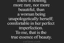 Feminine Beauty and Strength
