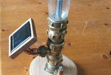 steamsolar / leuke lampjes steampunkstyle...