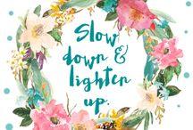 slow movement