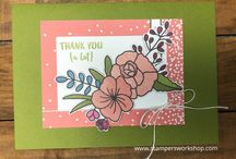 Orange Blossom / Cards using the Orange Blossom stamp set from Stampin' Up! created by Kylie of Stampers Workshop  #stampersworkshop #stampinup