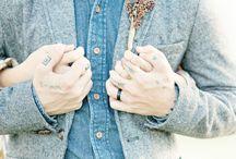 A wedding- hands