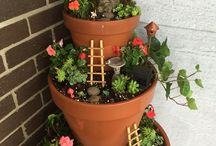 Garden decorations / Flower pot
