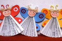 newspaper craft