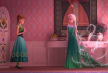 Velká šestka / Jack Frost, Rapunzel, Merida, Štikút, Anna, Elsa