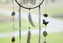 Dreamy dreamcatchers & string art