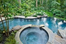 Backyard/Pool/Gardening / by Tünde Clark