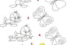 pillangó és madár