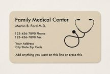 family physicians business card (Aile Hekimi)