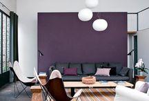 colored interiors / interior design