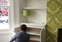 Inbuilt cupboards