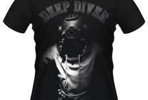 scuba diving | SharkBites | T-shirts / T-shirts for scuba divers :-) created with passion for scuba diving man, woman, girls and boys. Every underwater lover will find here something special! afterdive t-shirts #diving #diver #underwater #afterdive #scuba #scubadiver