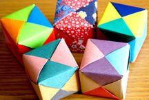Origami / Paper crafting.