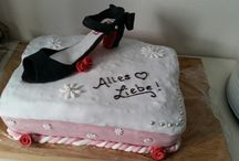 My own Fondant Cakes / Cupcakes