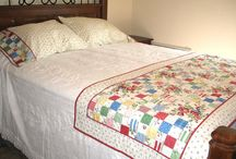 Patchwork bed runners / Ideas and patterns for making patchwork bed runners