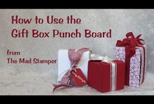 Cards...3-D Gift Bag Punch Board / by Doris Amey-Ketcham