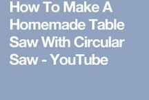 homemade tablesaw
