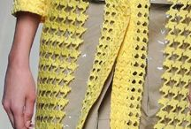 TREND :: 2014-2015 futuristic fabric treatments / fabrics diaphanous, layered, appliqued