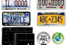 License Plate Frames / Licenseplates.tv's Automoda Brand Sleek Design license plate frames are 100% Lead-Free, 100% Mercury-Free and 100% Cadmium-Free and there is no need to wash hands after handling and is also Eco Friendly.