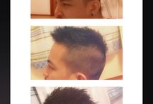 Self hair cut / Self hait cut