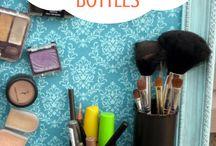 crafts with empty medicine bottles