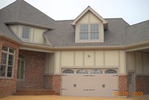 Hardie Board & Batten Siding Chesterfield MO. (63017) / This is a new home construction project that features James Hardie Board & Batten Siding in Cobblestone