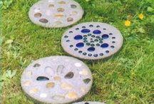 Aplicación mosaicos artesanales