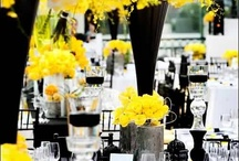 """{"""" I-Do """"} - Yellow  / Yellow stands for true happiness. Yellow bridesmaid dresses, yellow flowers or yellow candles indicate that happiness follows you wherever you go. / by Luba Vasilkova"""