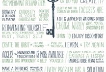 MANIFESTO {self discovery} / Creat a manifesto for your life and list as you best self from a solid foundation.