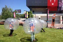Big Bubble Football Heyecanı Next Level'da! / Şişme balonlar içerisinde eğlenceli rekabet Next Level'da çok eğlendirdi.