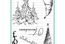 Stempelset O Tannenbaum