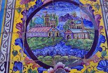 Mosaics, tiles