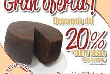 Promoción Torta Negra / Oferta del 20% de descuento en torta negra