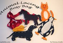 Busy Bags by Nanny Anita / Fun crafts and activities that are easy to put in bags to keep little ones entertained while you are out.