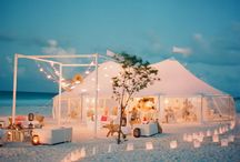 Marquee Wedding on the beach