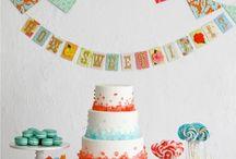 : Ideas for Elseken's first birthday :
