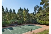 CB Home: Ace Tennis Courts / For avid tennis players, it doesn't get any better than playing a match in your own backyard. Game, set, match! Check out these tennis courts from Coldwell Banker California.