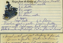 Old  scan recipes