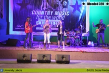 """★ Blended 328 ★ / The University of Lahore and U.S. Consulate General has organized a concert named """"Blend 328"""" Country Music for the World! at UoL's Defence road campus."""