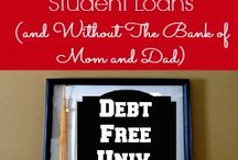 Debt Free College / Tips, Tricks, & Techniques for Saving for Your Child's College and Beyond
