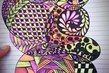 Zentangles/Doodles / by Diane Auger