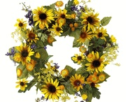 Flowers and Wreaths for Decorating