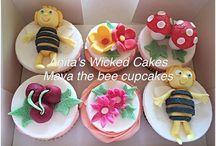Maya the bee Cupcakes