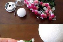 Вазы с цветами для стола своими руками