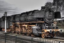 Trains / by Nancy Gallagher