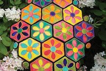 Wool Applique Runners / Patterns and kits for wool Applique runners by WoolyLady